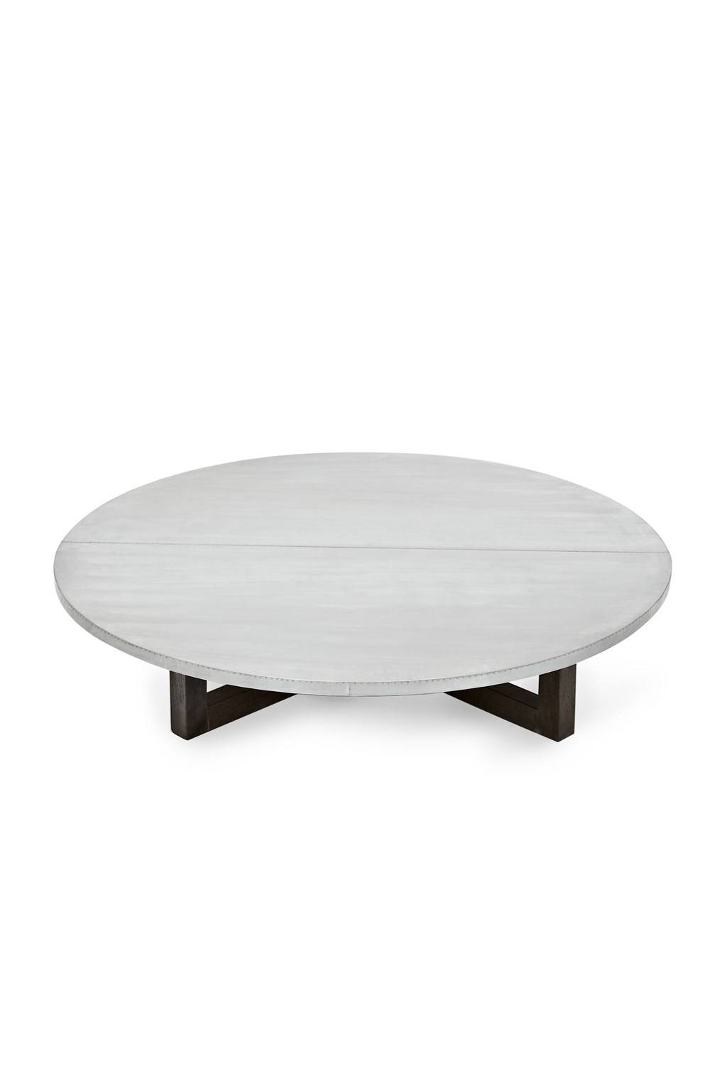 Coffee Table: Excellent Low Round Coffee Table Ideas Round Coffee in White Circle Coffee Tables (Image 12 of 30)