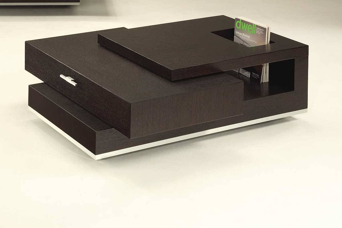 Coffee Table: Exciting Modern Coffee Table With Storage Large for Wooden Storage Coffee Tables (Image 5 of 30)