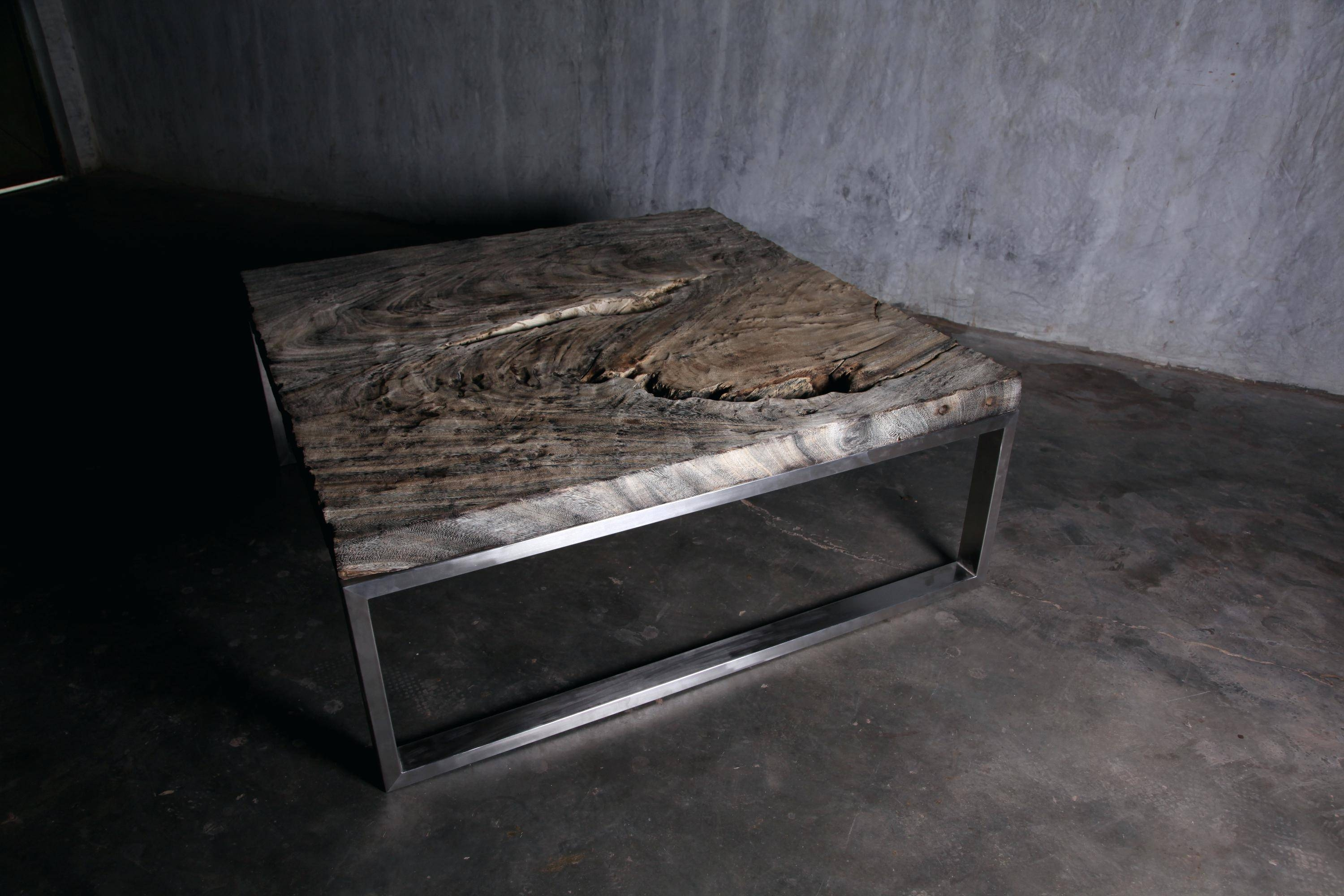 Coffee Table ~ Extra Large Low Coffee Table Square Wooden Low intended for Low Square Wooden Coffee Tables (Image 4 of 30)