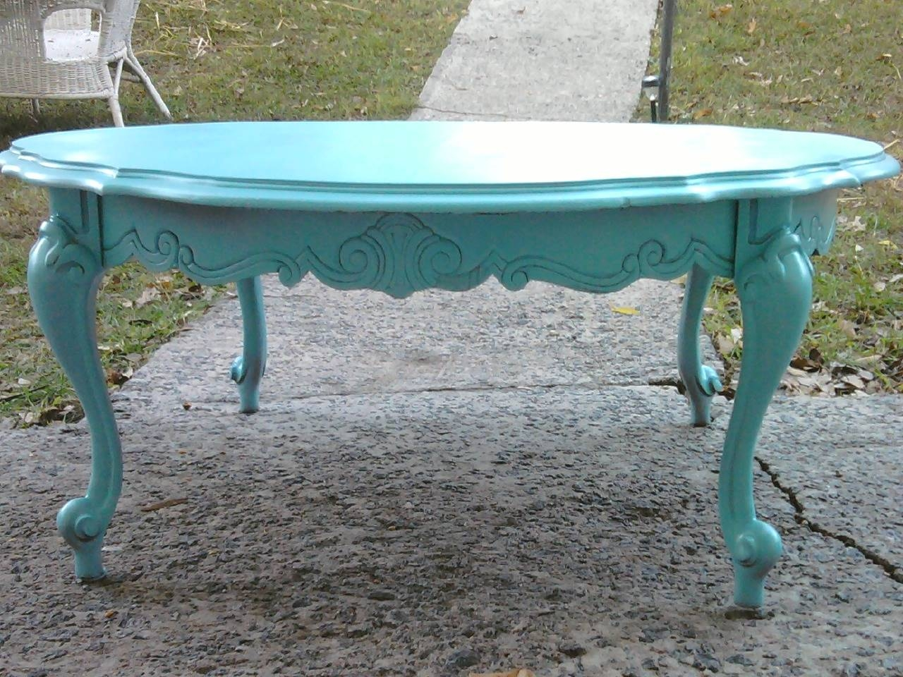 Coffee Table. Fascinating Blue Coffee Table Design Ideas: Latest with Blue Coffee Tables (Image 11 of 30)