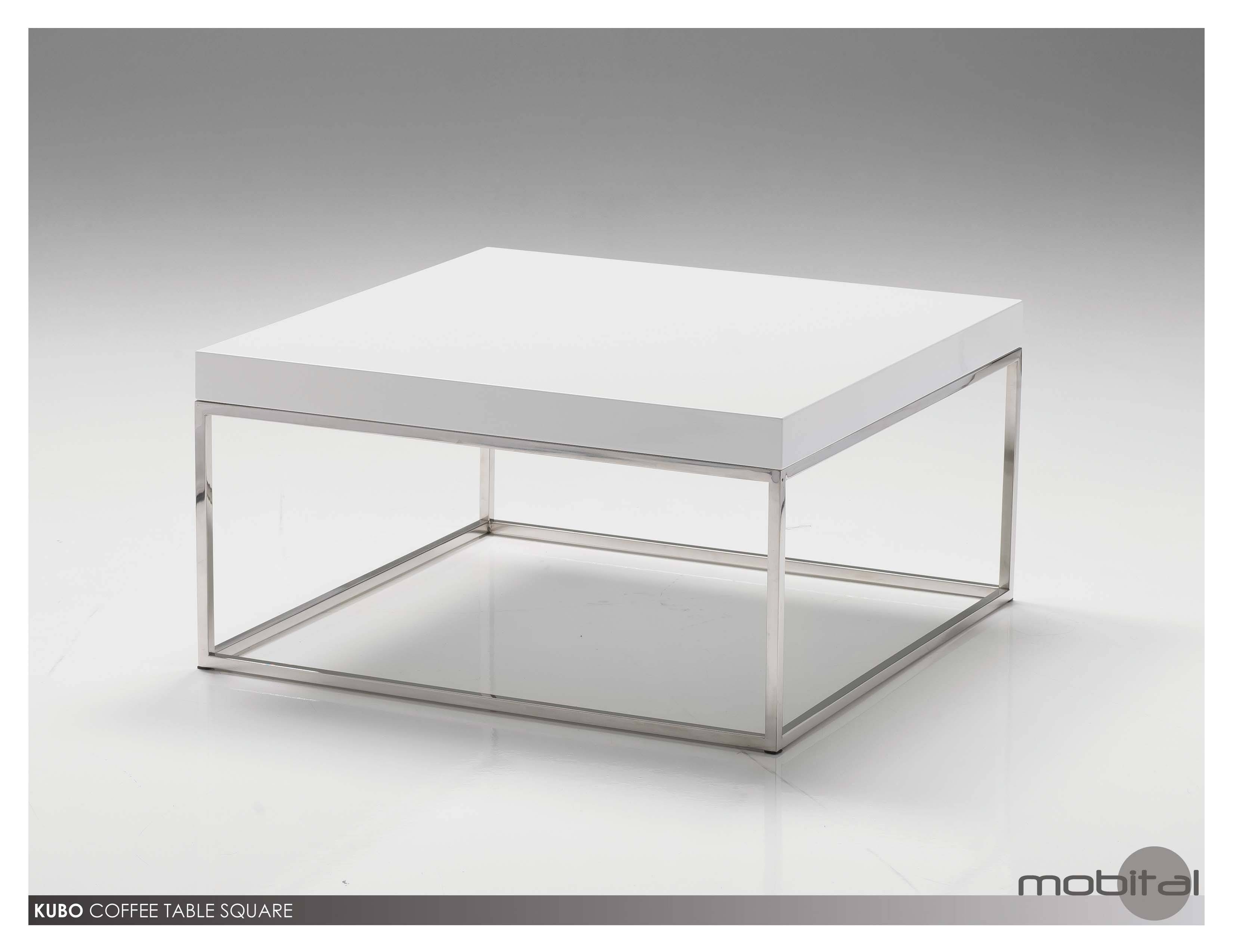 Coffee Table: Fascinating Square White Coffee Table Designs White With White Coffee Tables With Storage (View 10 of 30)