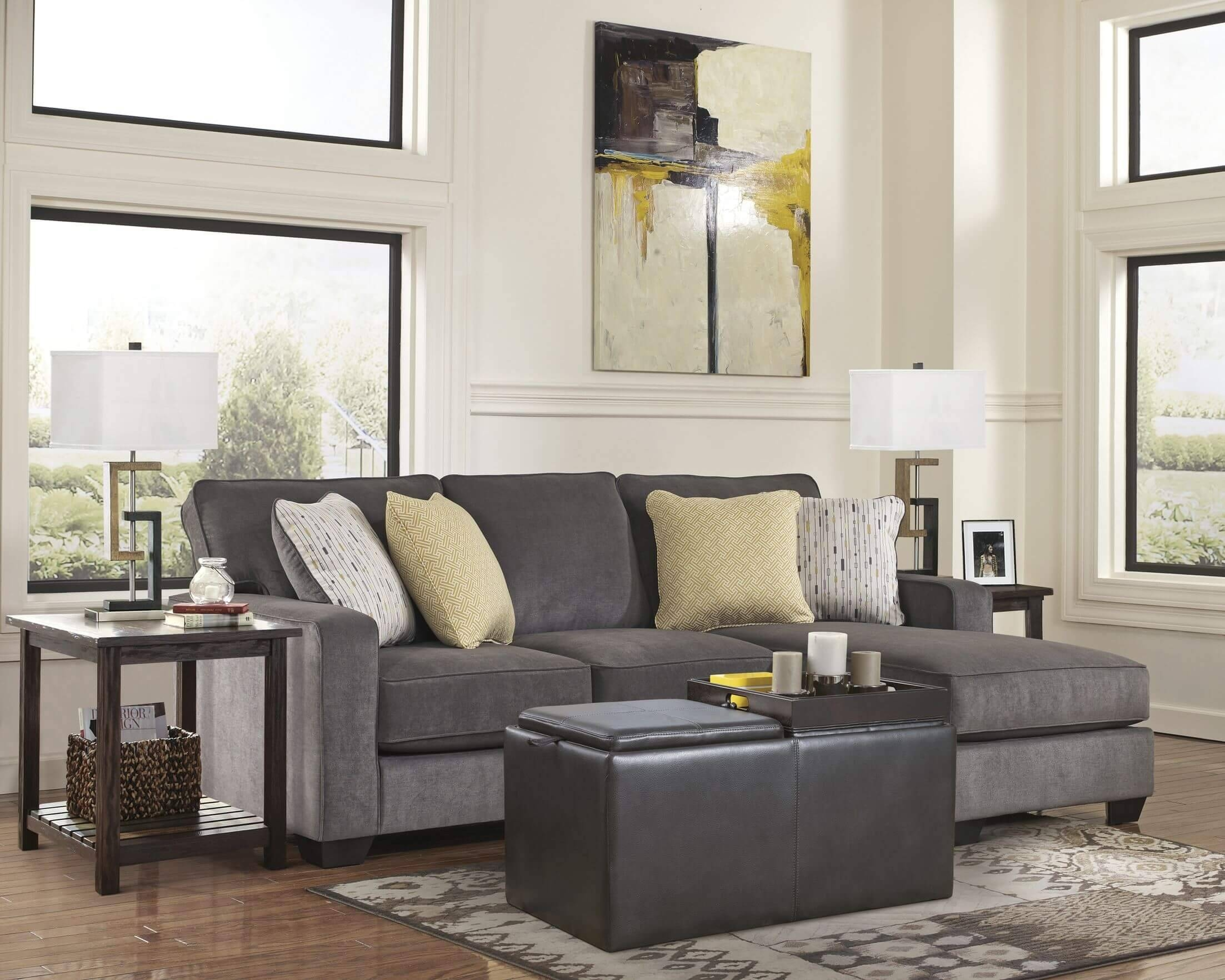 Coffee Table For Sectional Sofa With Chaise Top Ln8 | Umpsa 78 Sofas  Regarding Coffee Table