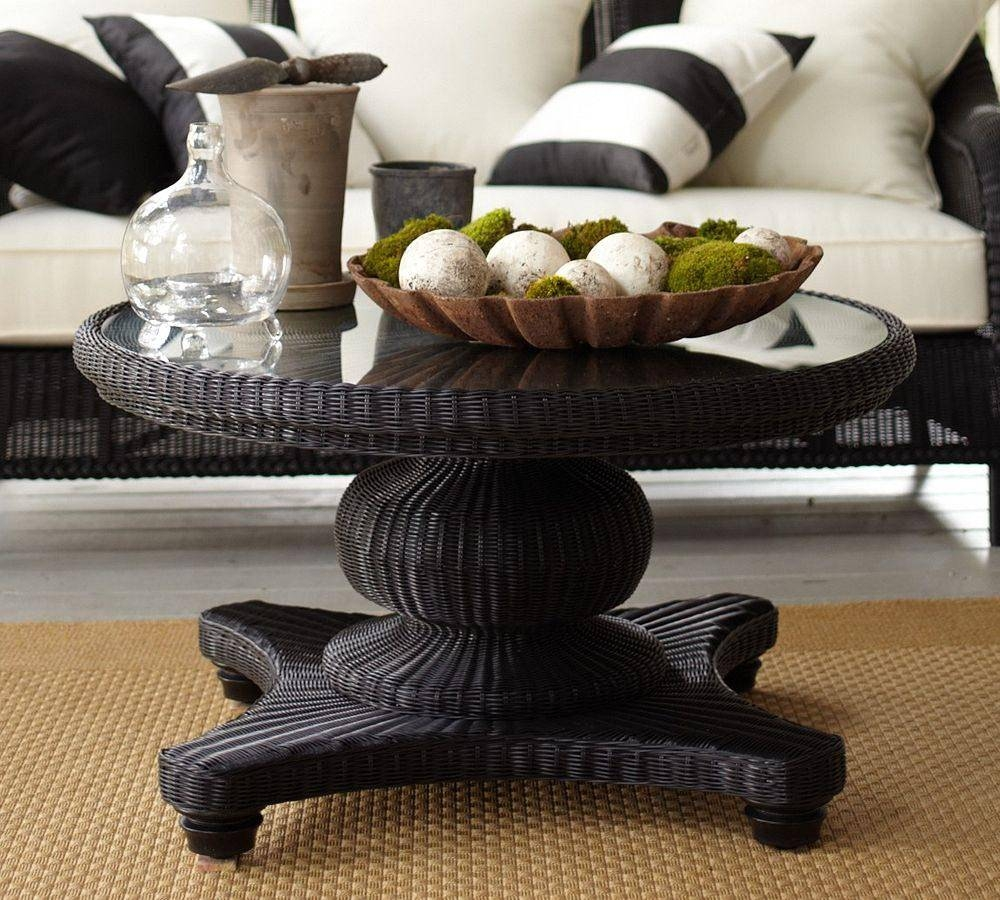 Coffee Table: Glamorous Coffee Table Accessories Design Ideas with Black Circle Coffee Tables (Image 17 of 30)