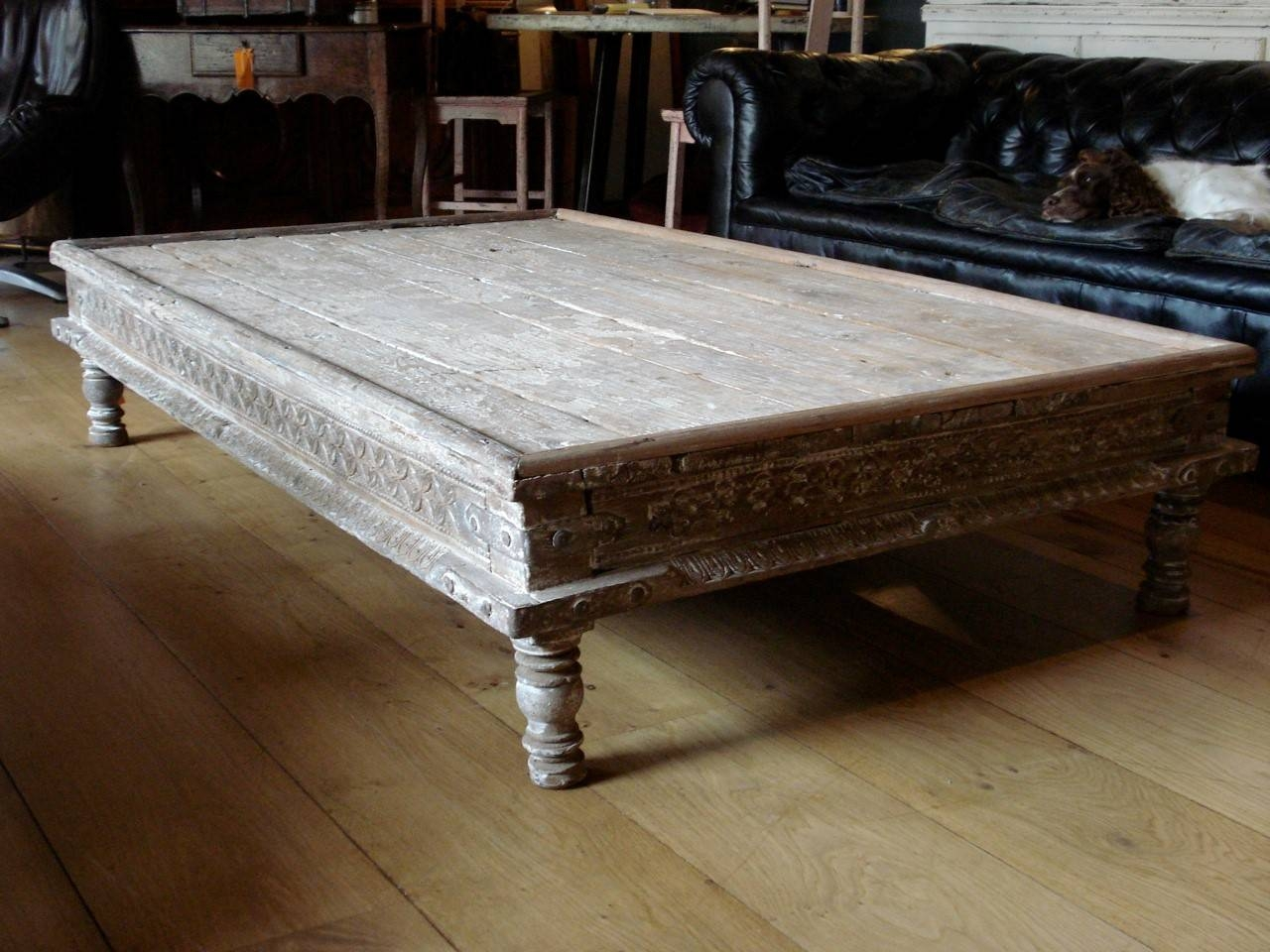Coffee Table: Glamorous Indian Coffee Table Ideas Indian Carved Pertaining To Large Low Wooden Coffee Tables (View 5 of 30)