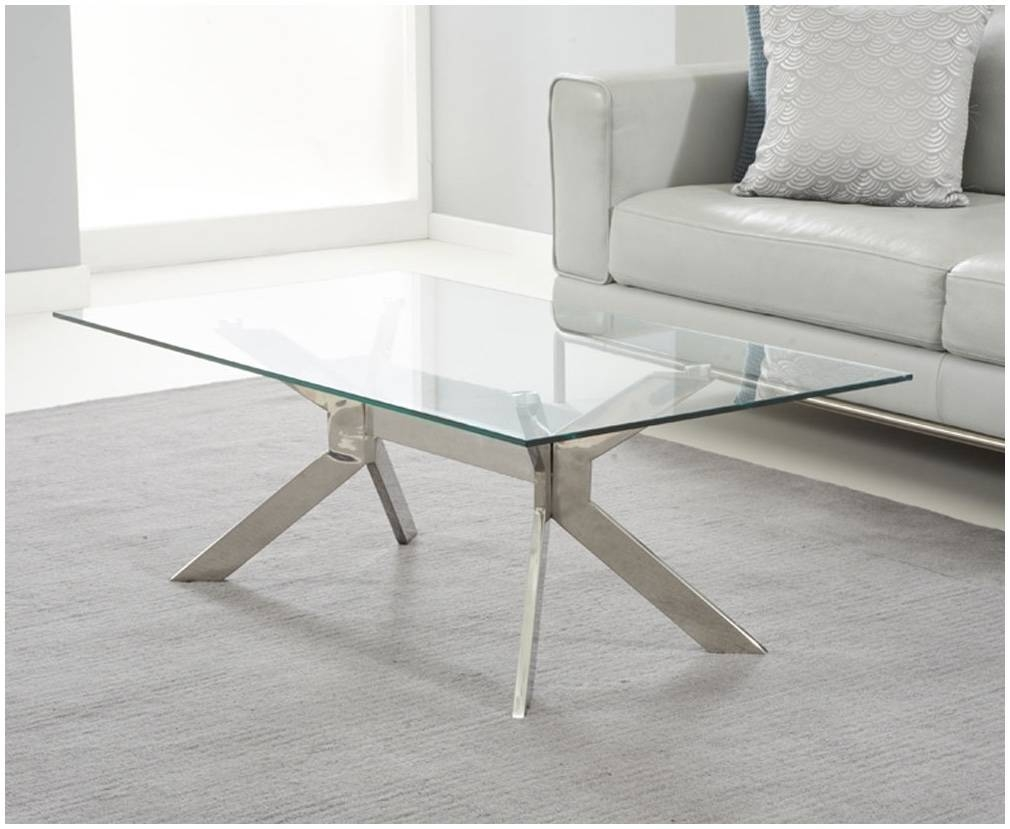 Coffee Table Glass Metal – Cocinacentral (View 2 of 30)