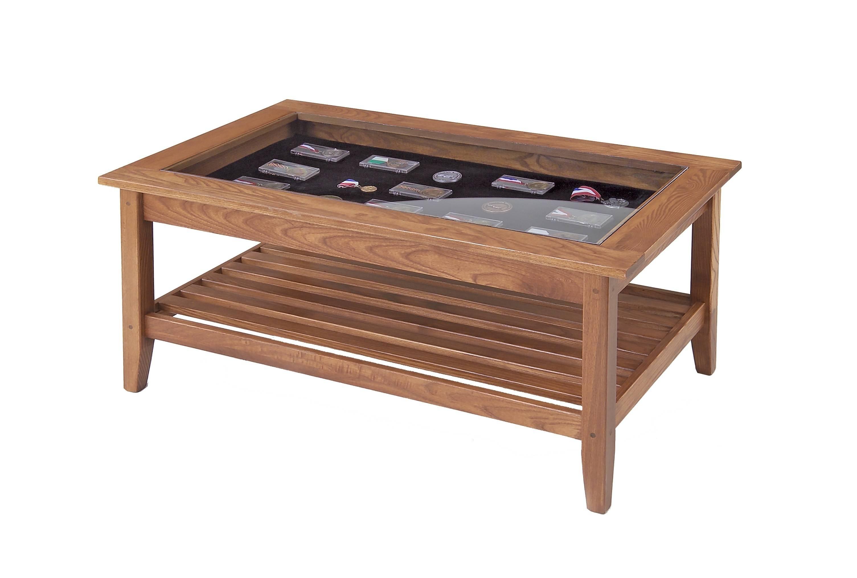 Coffee Table Glass Top Display Drawer | Home Design Ideas for Coffee Tables With Glass Top Display Drawer (Image 11 of 30)