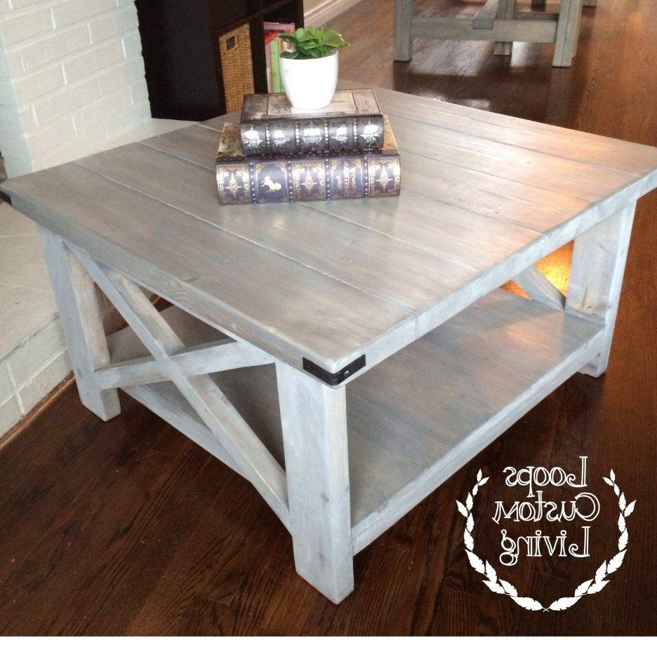 Coffee Table : Grey Wash Coffee Table For Magnificent Paint Color throughout Grey Wash Coffee Tables (Image 10 of 30)
