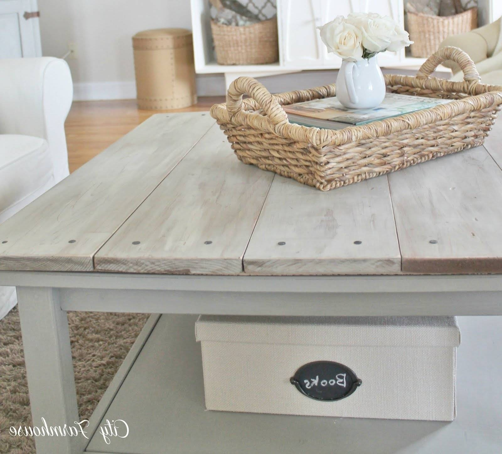 2018 Best of Grey Wash Wood Coffee Tables