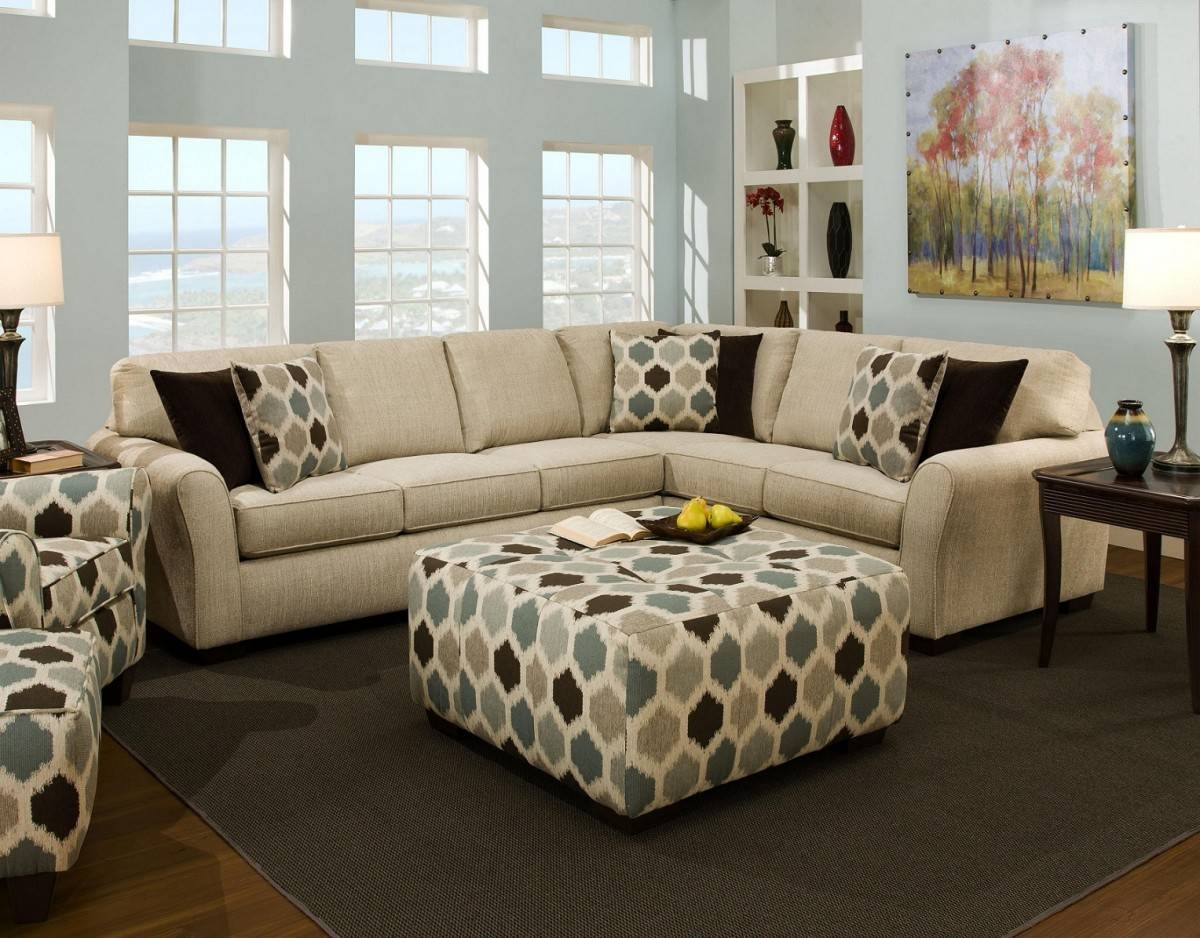 Coffee Table: Incredible Fabric Ottoman Coffee Table Design Ideas pertaining to Fabric Coffee Tables (Image 8 of 30)