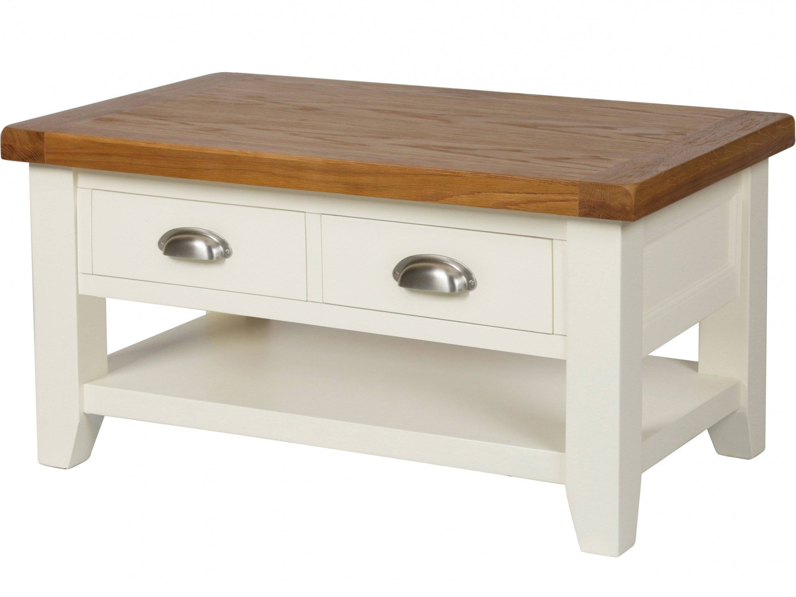 Coffee Table: Inspiring Country Coffee Table Design Ideas White in Country Coffee Tables (Image 9 of 30)