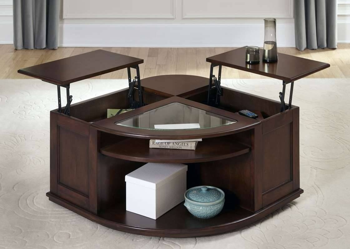 Coffee Table: Inspiring Lift Coffee Table Designs Square Lift Top with Raisable Coffee Tables (Image 9 of 30)