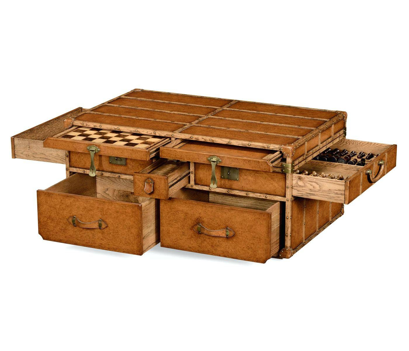Coffee Table ~ Large Wooden Chest Trunk Rustic Vintage Storage throughout Blanket Box Coffee Tables (Image 11 of 30)