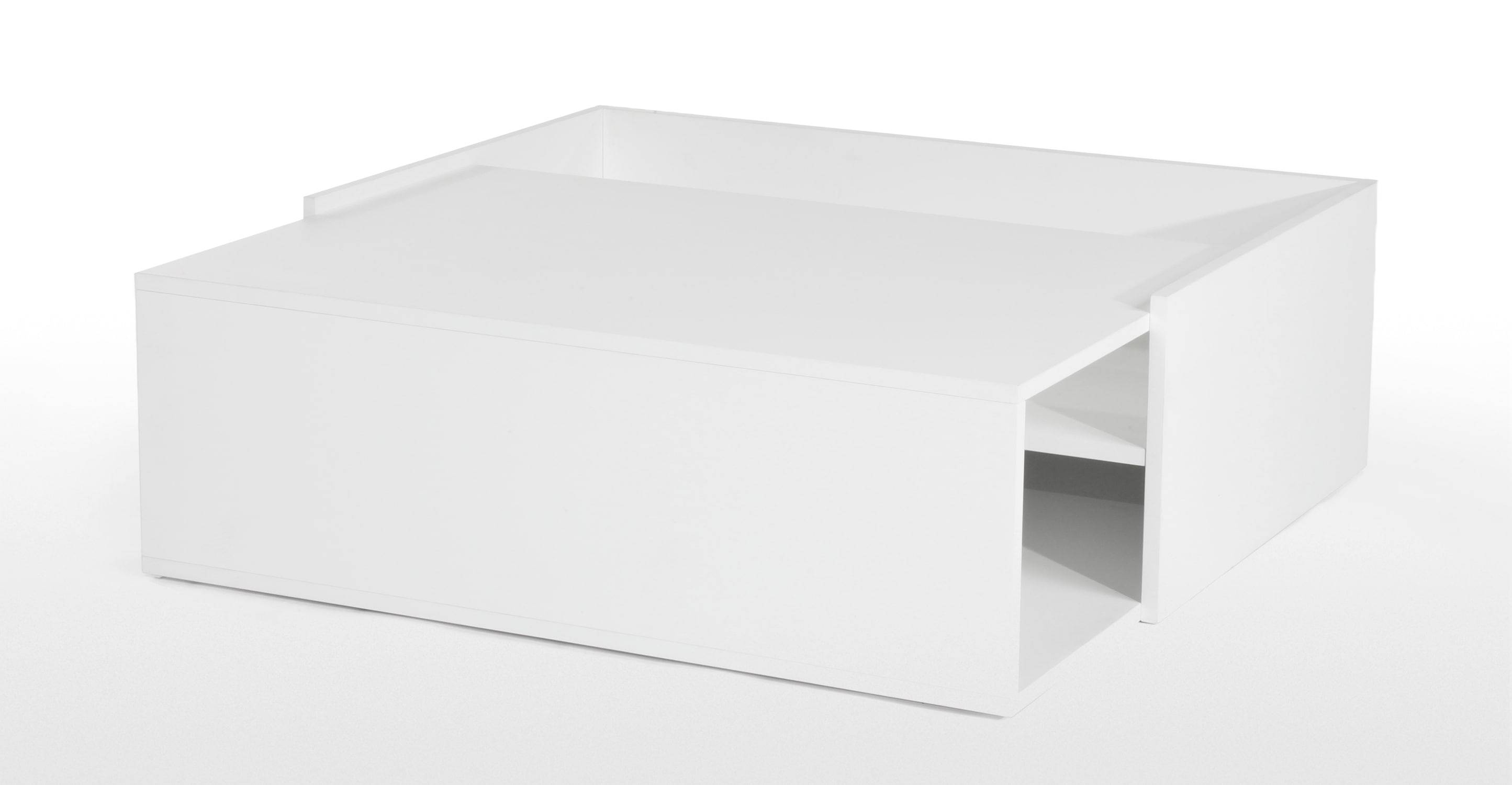 Coffee Table: Latest White Lacquer Coffee Table Designs White inside White Coffee Tables With Storage (Image 9 of 30)