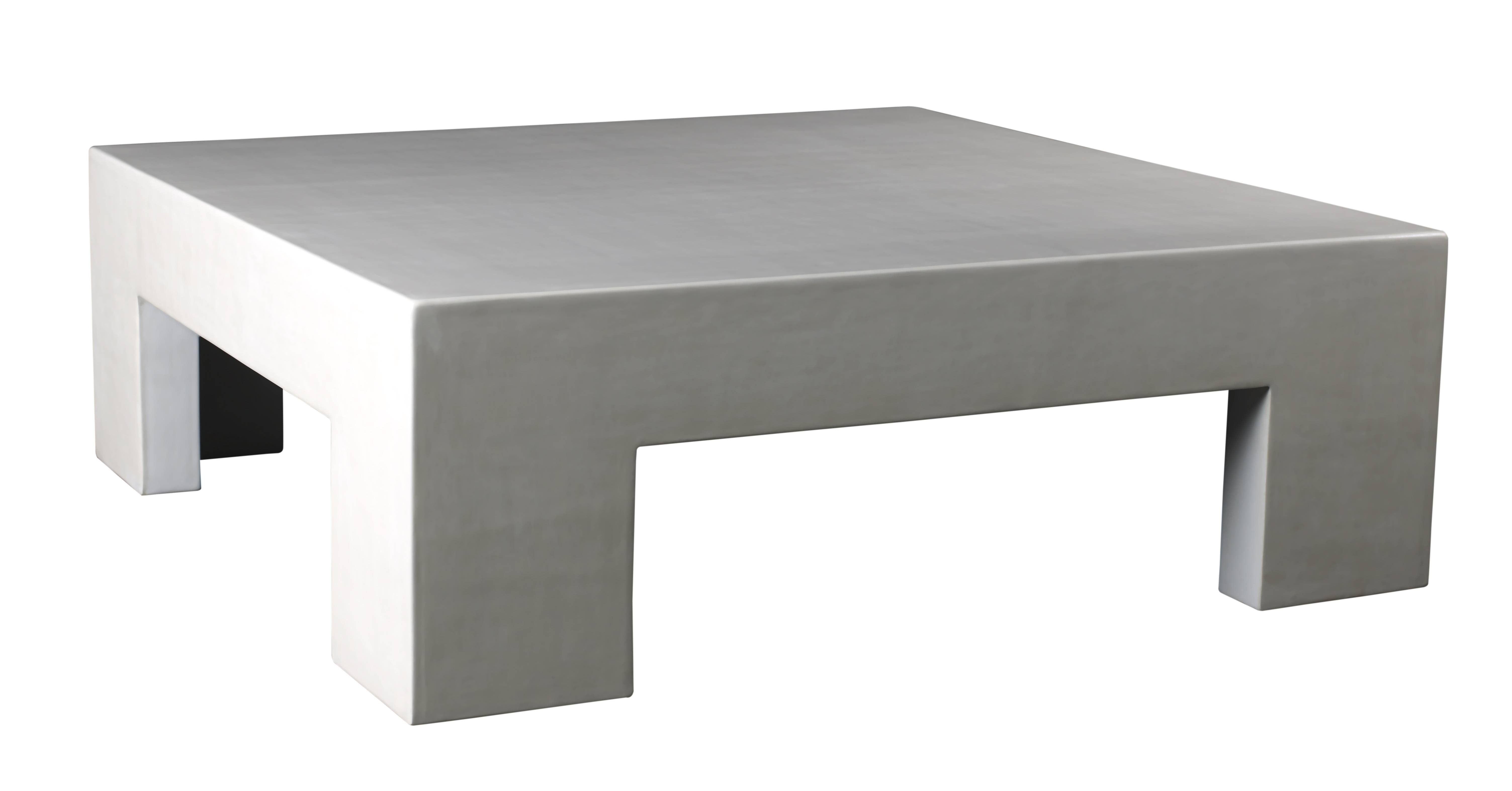 Coffee Table Low Square With Simple And Elegant Black Tables Brown for Large Low Square Coffee Tables (Image 5 of 30)
