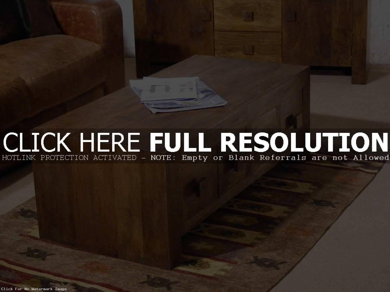 Coffee Table Mango Wood Furniture Timeless Ma / Thippo regarding Dark Mango Coffee Tables (Image 2 of 30)