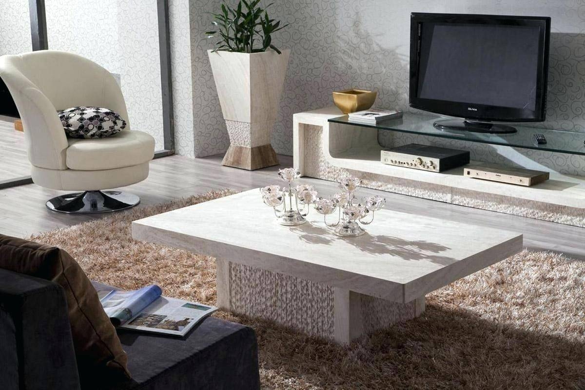Coffee Table ~ Marble Coffee Table Sets For Sale White Marble intended for White Marble Coffee Tables (Image 7 of 30)