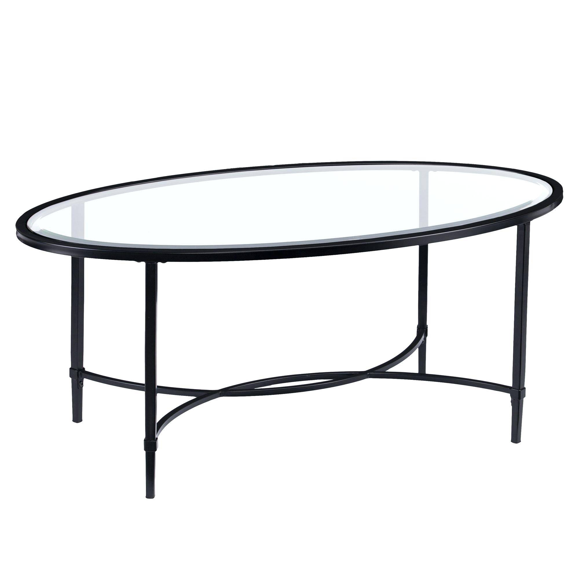 Coffee Table ~ Metal And Tempered Glass Coffee Table With 3 Clocks Intended For Clock Coffee Tables Round Shaped (View 12 of 30)