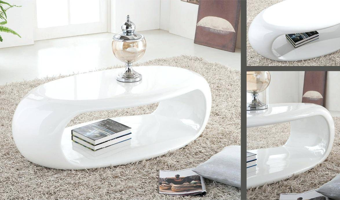 Coffee Table ~ Modern Round Coffee Table With Storage Drawers A for Round High Gloss Coffee Tables (Image 7 of 30)