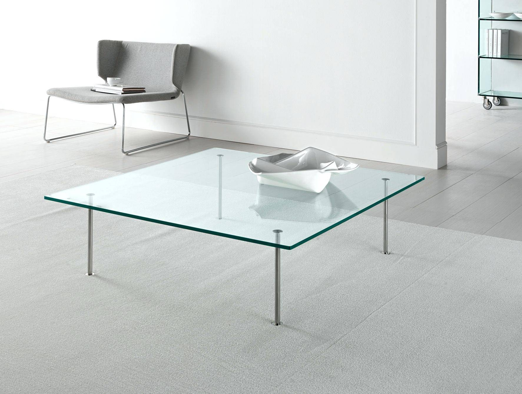 Coffee Table ~ Modern Square Glass Coffee Table Urbinocoffee Cover in Modern Square Glass Coffee Tables (Image 2 of 15)