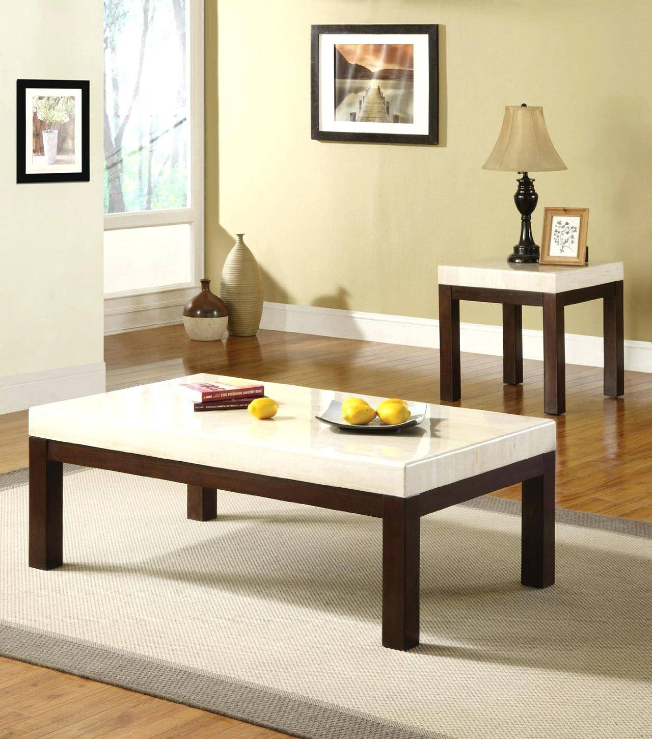 Coffee Table ~ Modern White Coffee Table Sets For Sale Marble And  Throughout Tv Cabinets And