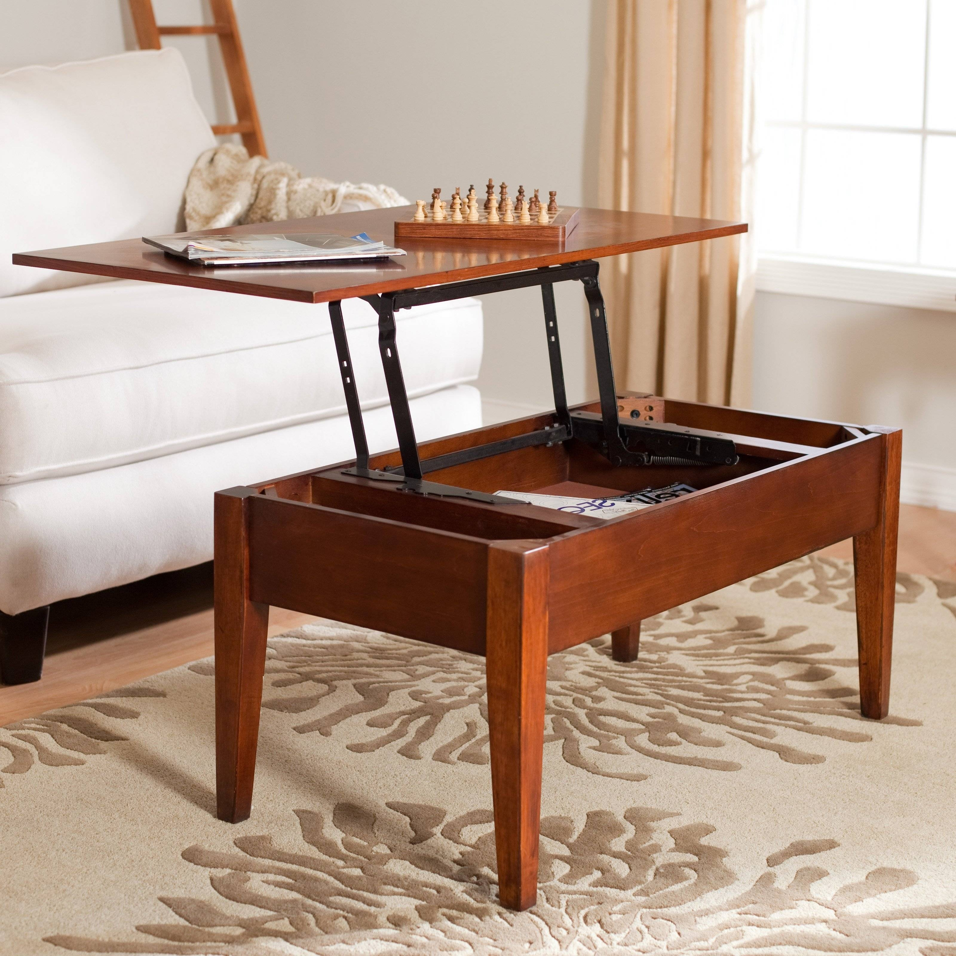 Coffee Table : Narrow Coffee Table With Storage Intended For Nice intended for Narrow Coffee Tables (Image 2 of 30)