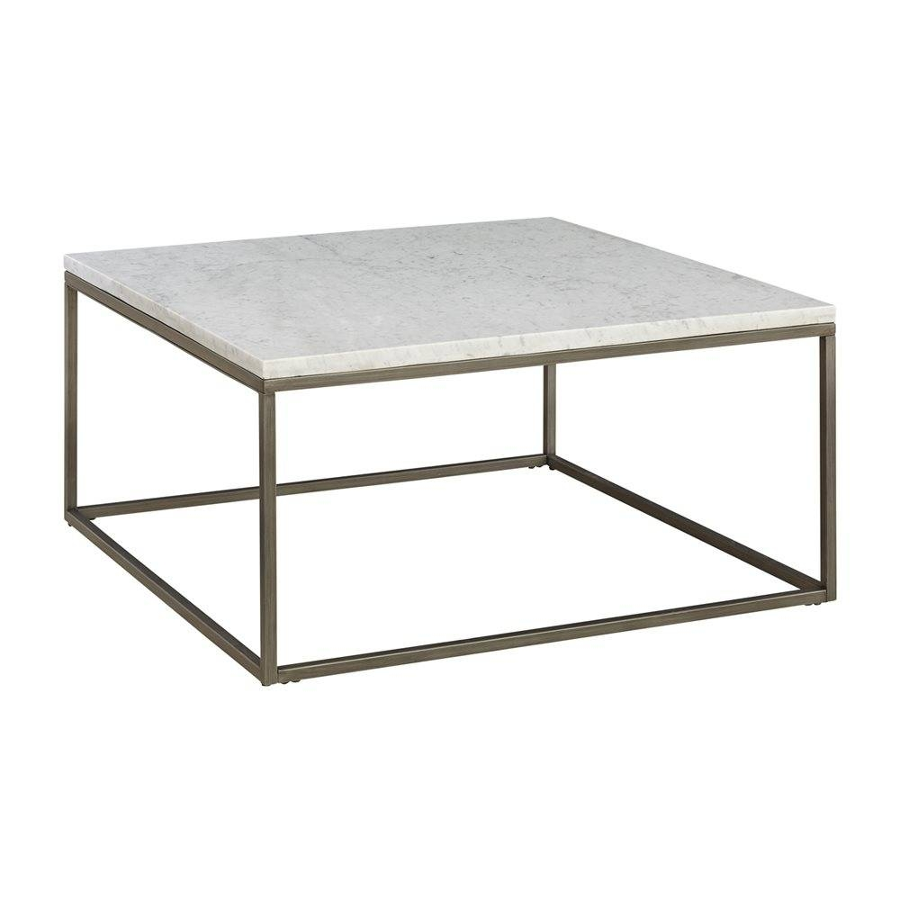 Coffee Table: New Marble Top Coffee Table Design Ideas Marble in White Square Coffee Table (Image 11 of 30)