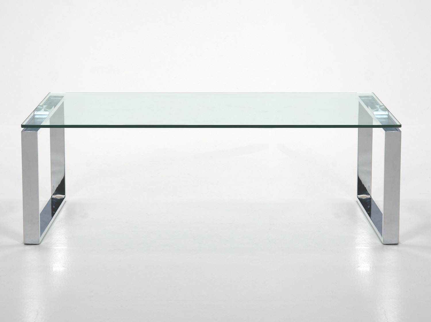 Featured Photo of Rectangle Glass Chrome Coffee Tables