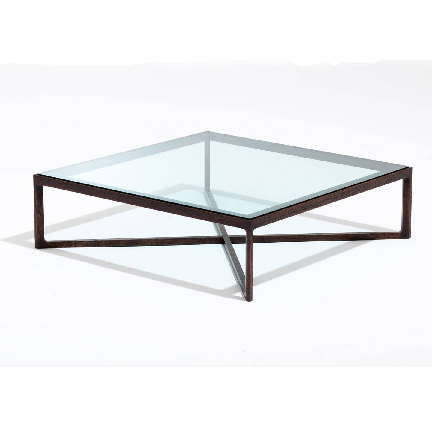 Coffee Table: Outstanding Glass Metal Coffee Table Round Wood regarding Large Square Glass Coffee Tables (Image 14 of 30)