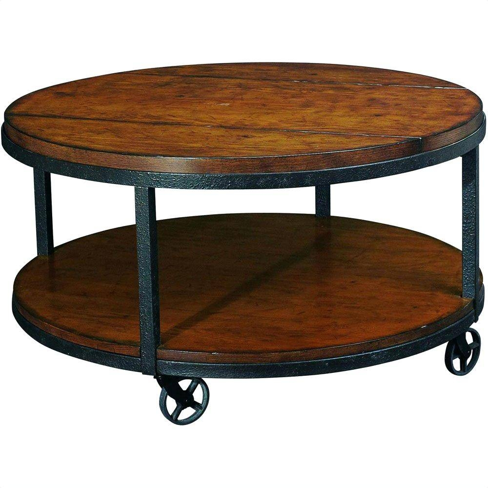 Coffee Table ~ Outstanding Round Coffee Table Small Oak Tableround throughout Coffee Tables With Rounded Corners (Image 10 of 30)