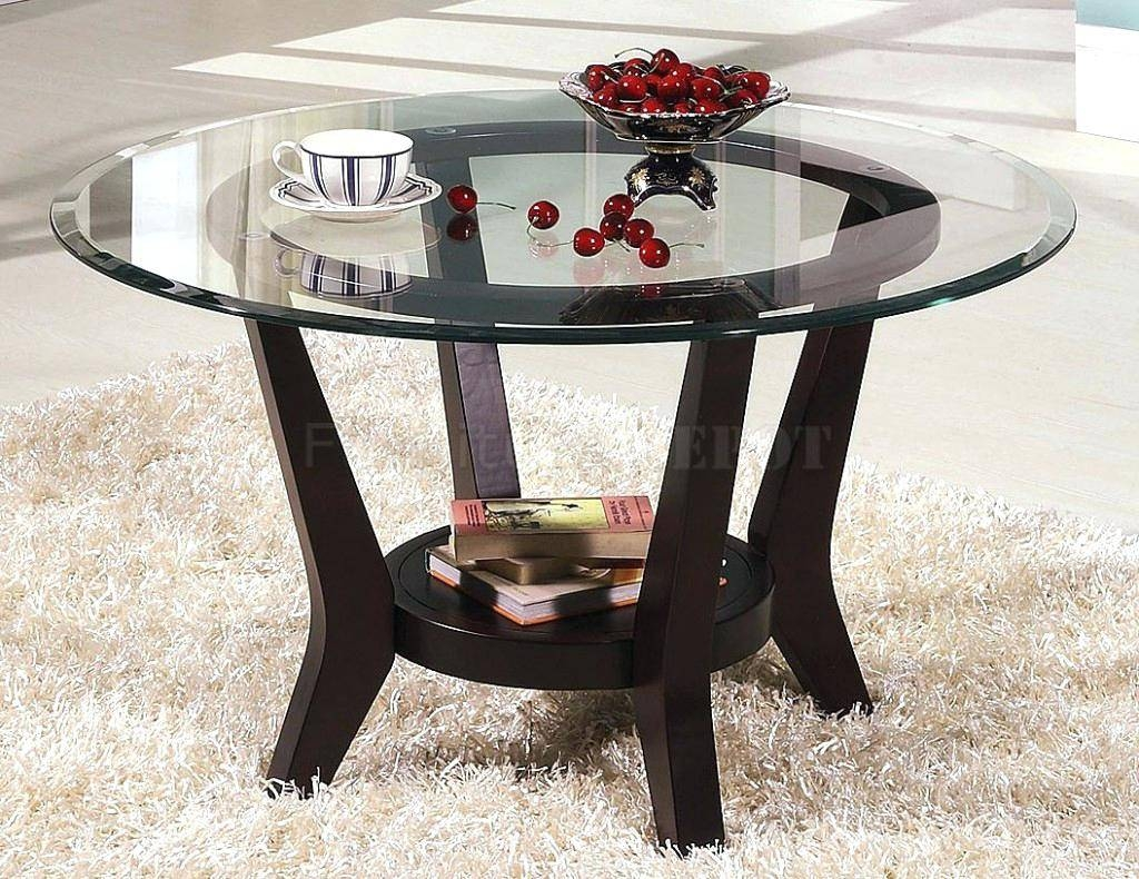 Coffee Table ~ Porcelain Small Round Glass Coffee Table Themes Within Coffee Table Rounded Corners (View 10 of 30)