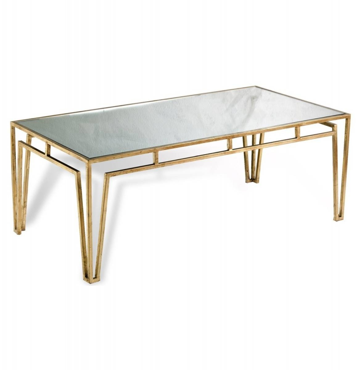 Coffee Table: Remarkable Glass And Gold Coffee Table Ideas Gold in Glass Gold Coffee Tables (Image 11 of 30)