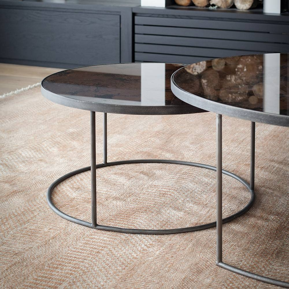 Coffee Table: Remarkable Mirror Coffee Table Ideas Mirrored Coffee for Round Mirrored Coffee Tables (Image 5 of 30)