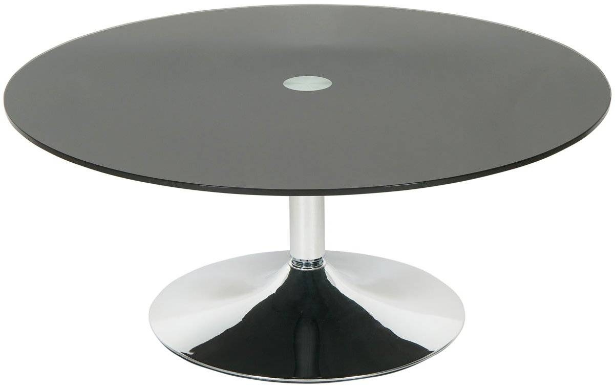 Coffee Table : Round Black Glass Coffee Table Home Design Round regarding Dark Glass Coffee Tables (Image 11 of 30)