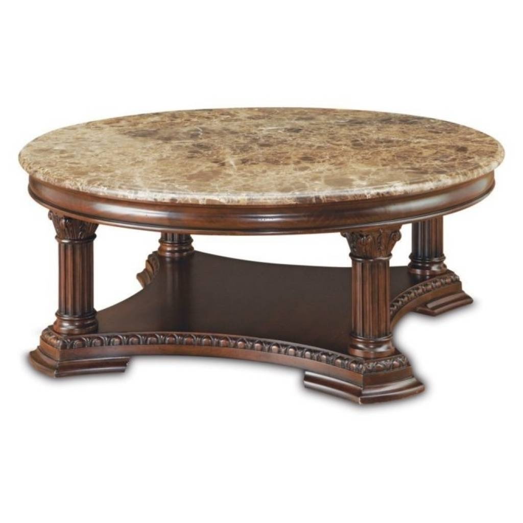 Coffee Table Round Marble Coffee Tables And End Tables Oversized with regard to Marble Round Coffee Tables (Image 8 of 30)