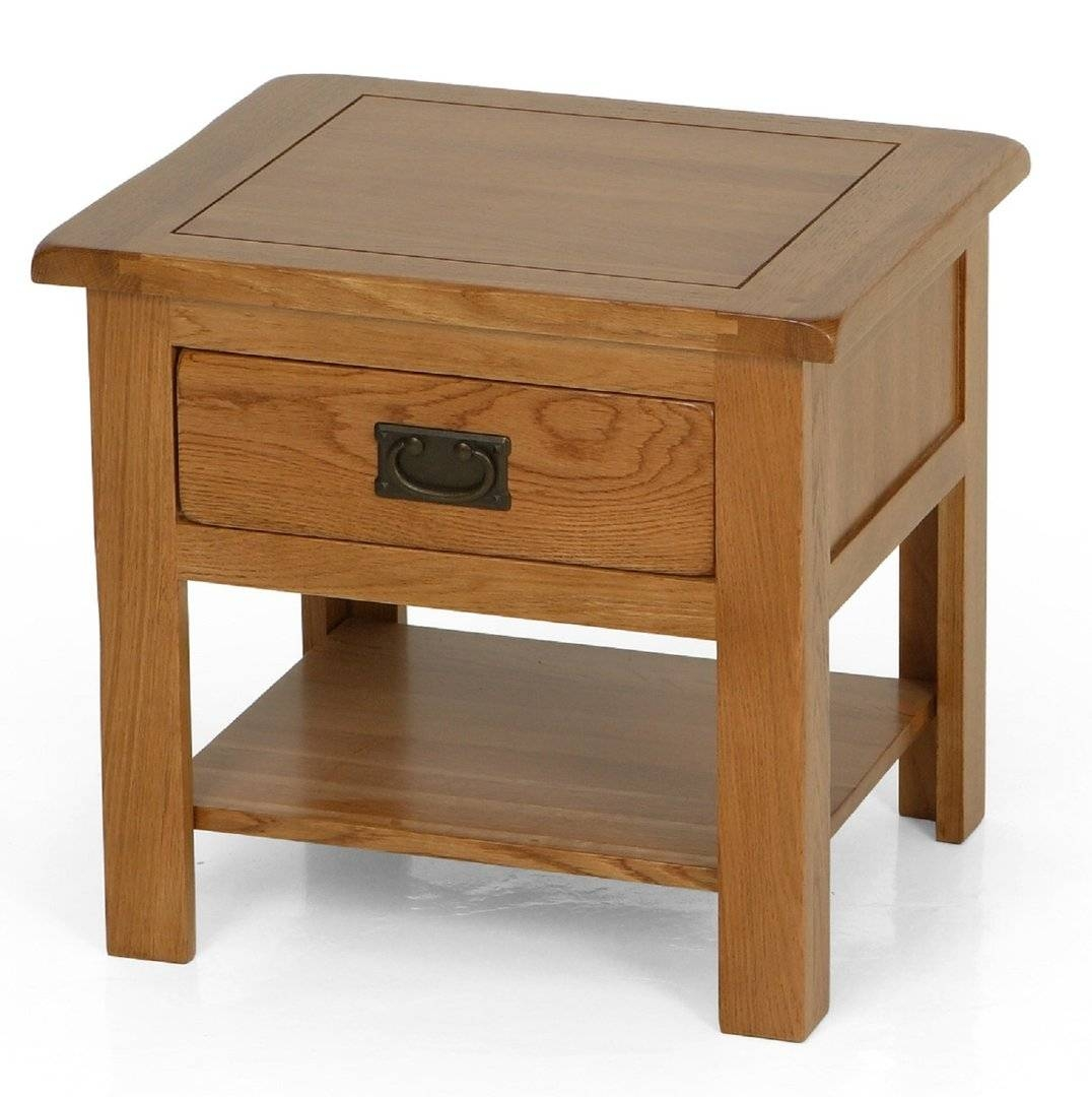 Coffee Table Round Wood Tables With Storage Solid Oak And End pertaining to Oak Coffee Tables With Shelf (Image 6 of 30)