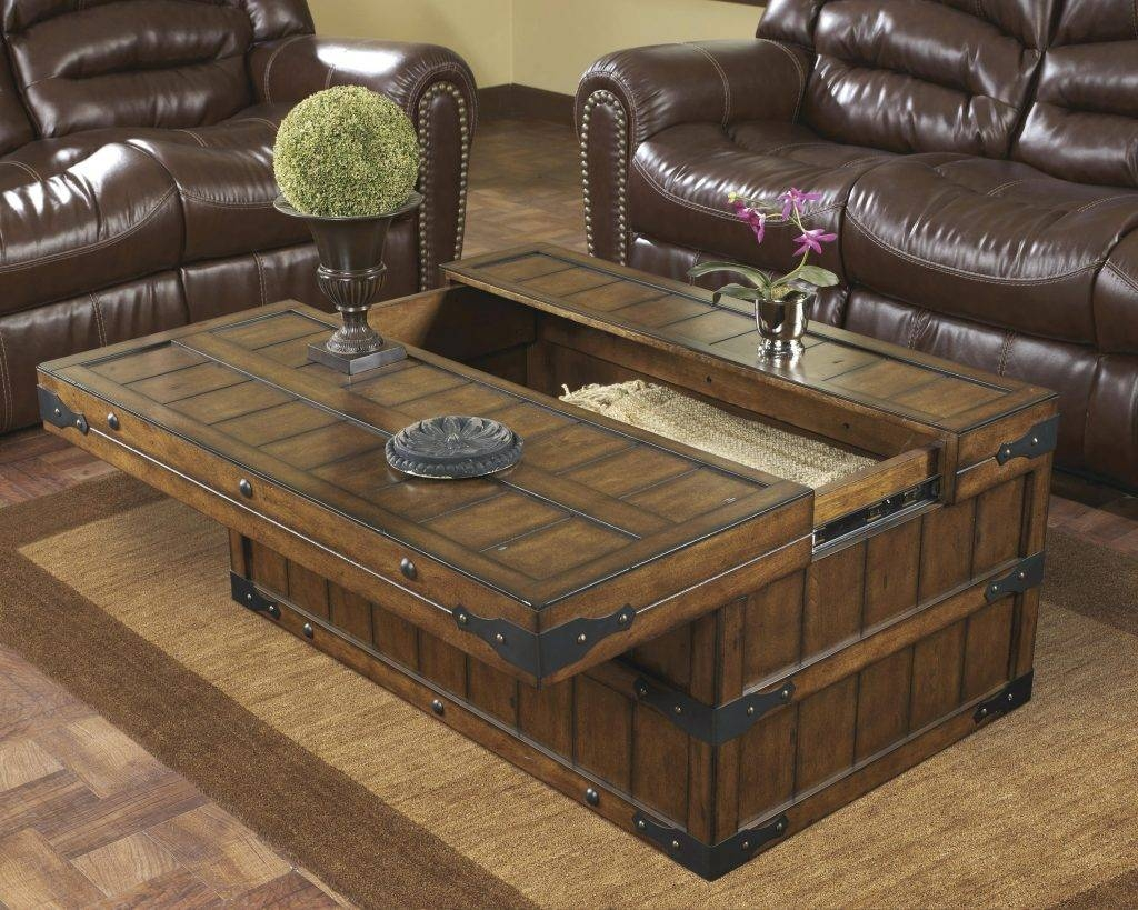 Coffee Table ~ Rustic Waxed Pine Wooden Blanket Box Storage Chest throughout Blanket Box Coffee Tables (Image 12 of 30)
