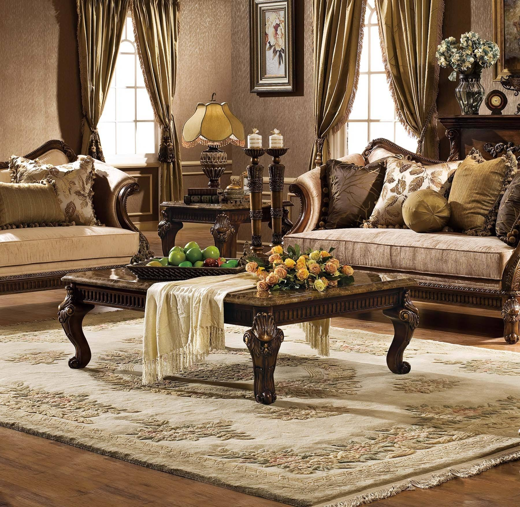 Coffee Table : Savannah Collections throughout Antique Glass Top Coffee Tables (Image 8 of 30)