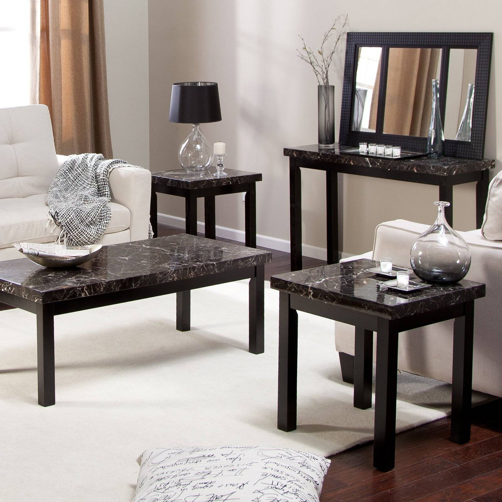 Coffee Table Sets For Sale On Hayneedle – Shop Unique Cocktail Tables within Coffee Table With Chairs (Image 15 of 30)