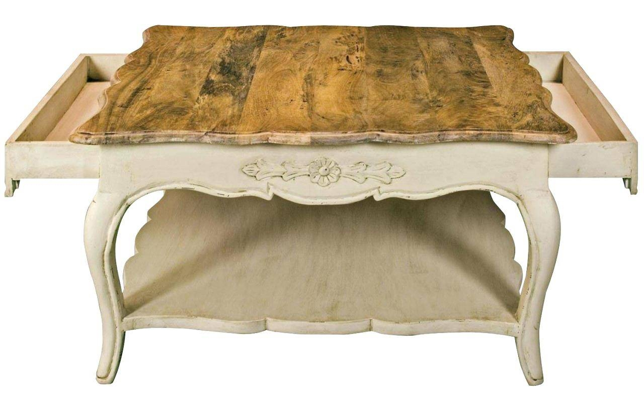 Coffee Table ~ Shabby Chic French Country Coffee Tablemodern Table throughout French Country Coffee Tables (Image 8 of 30)