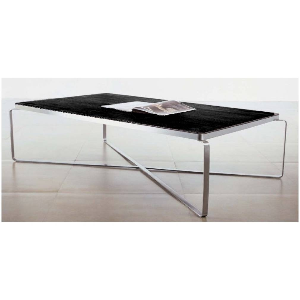 Coffee Table Simple Rectangular Glass – Cocinacentral.co inside Glass and Black Coffee Tables (Image 6 of 30)
