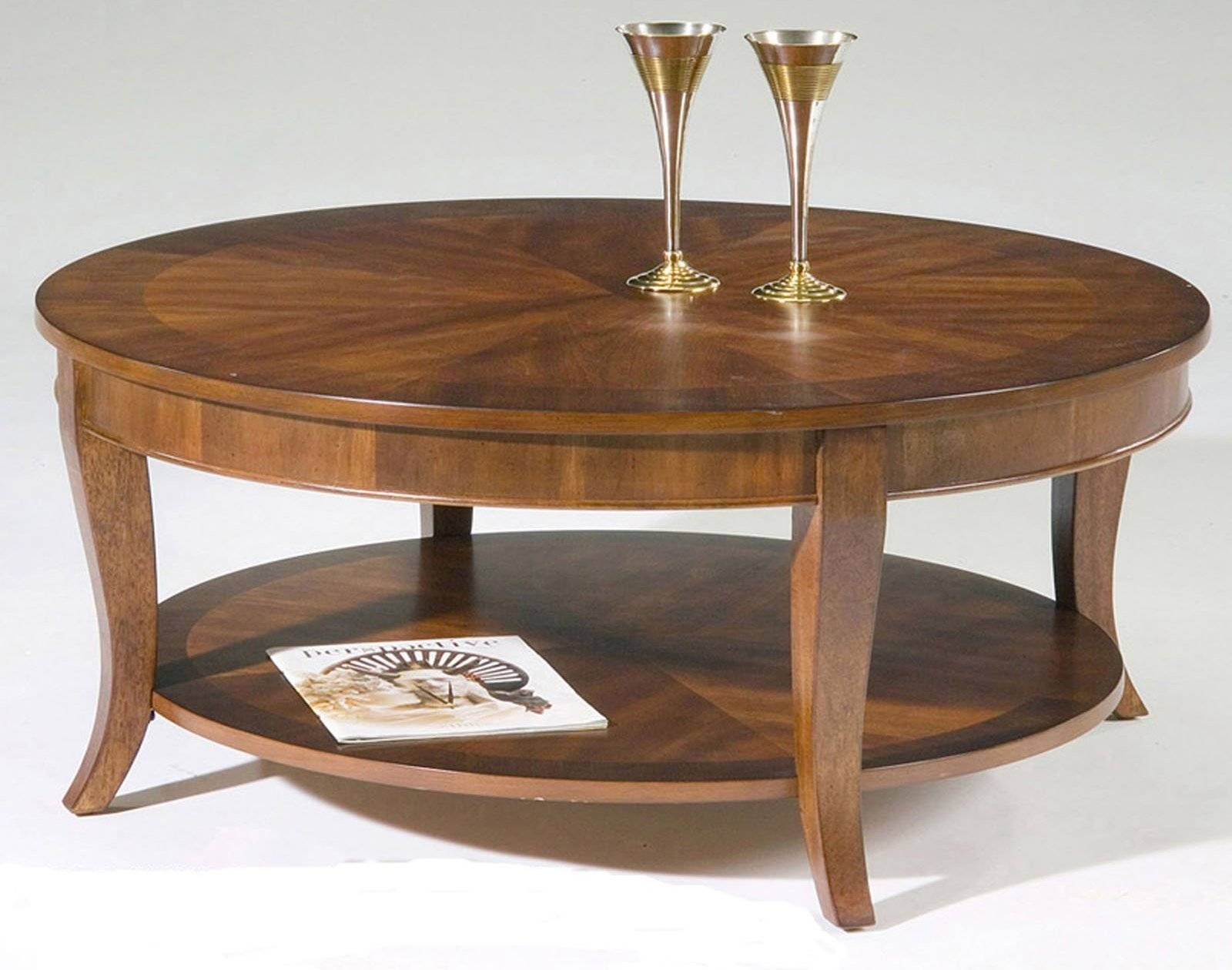 Coffee Table: Simple Round Coffee Table Designs Small Round Coffee for Small Circle Coffee Tables (Image 7 of 30)