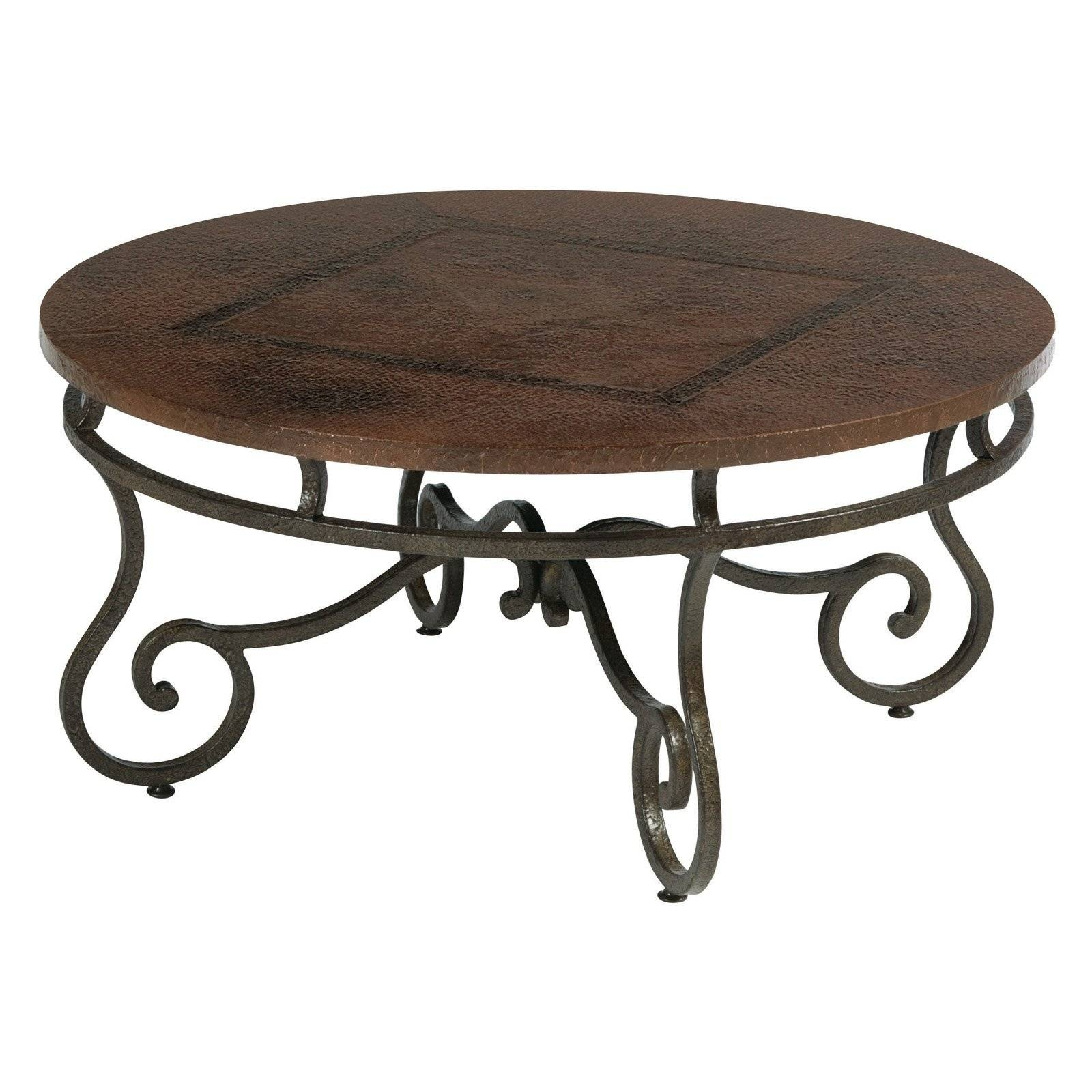 Coffee Table: Simple Round Coffee Tables Metal And Glass Coffee for Round Steel Coffee Tables (Image 12 of 30)