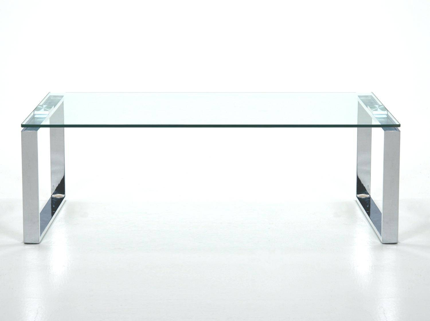 Coffee Table ~ Smart Glass Top Coffee Tablelarge Square Chrome And in Round Chrome Coffee Tables (Image 5 of 30)
