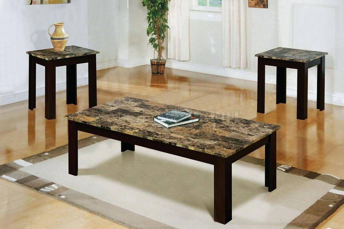 Coffee Table ~ Stainless Steel And Marble Furniture Set Coffee with Tv Cabinet and Coffee Table Sets (Image 10 of 30)