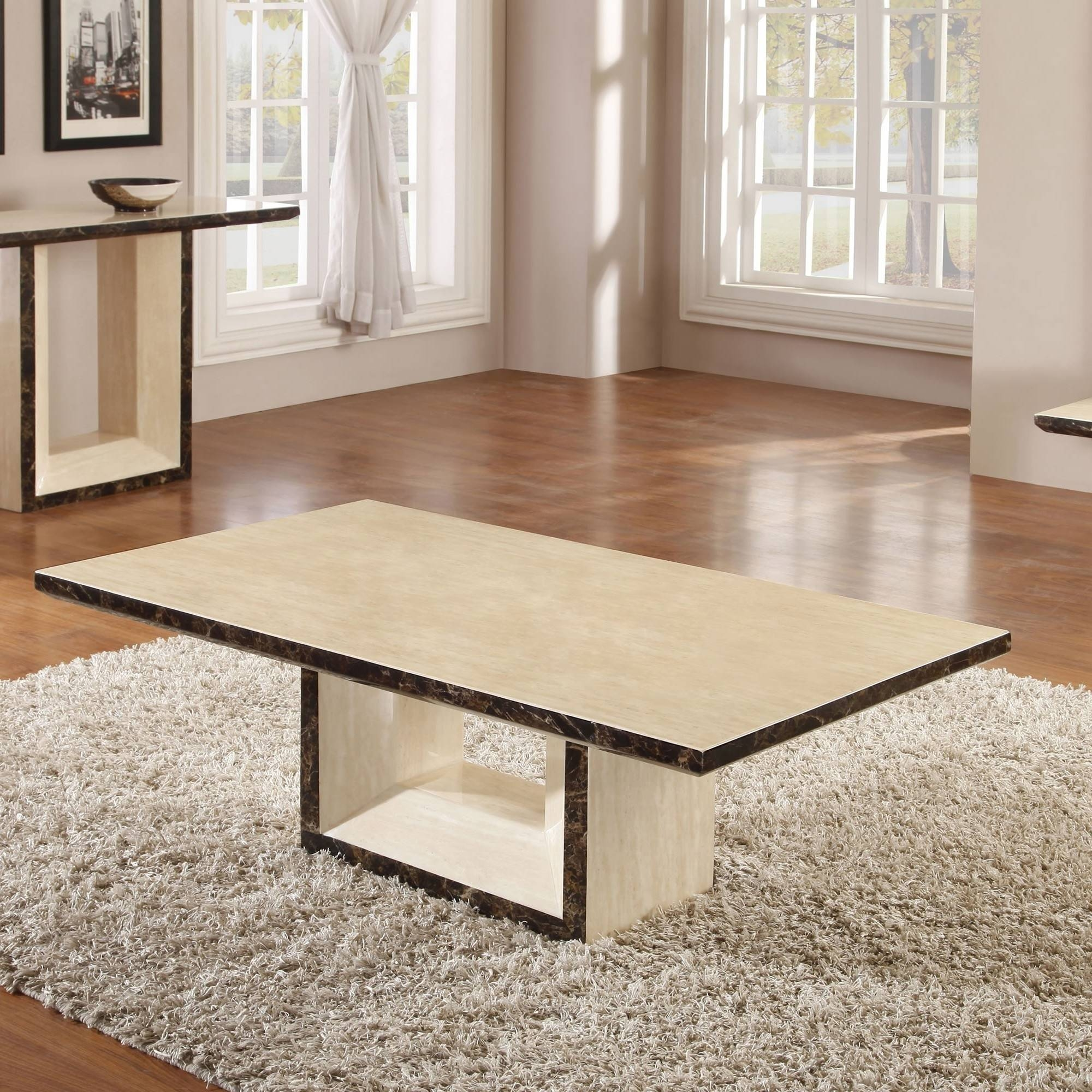 Coffee Table. Stunning Cream Coffee Table Design Ideas: New intended for Oak and Cream Coffee Tables (Image 8 of 30)