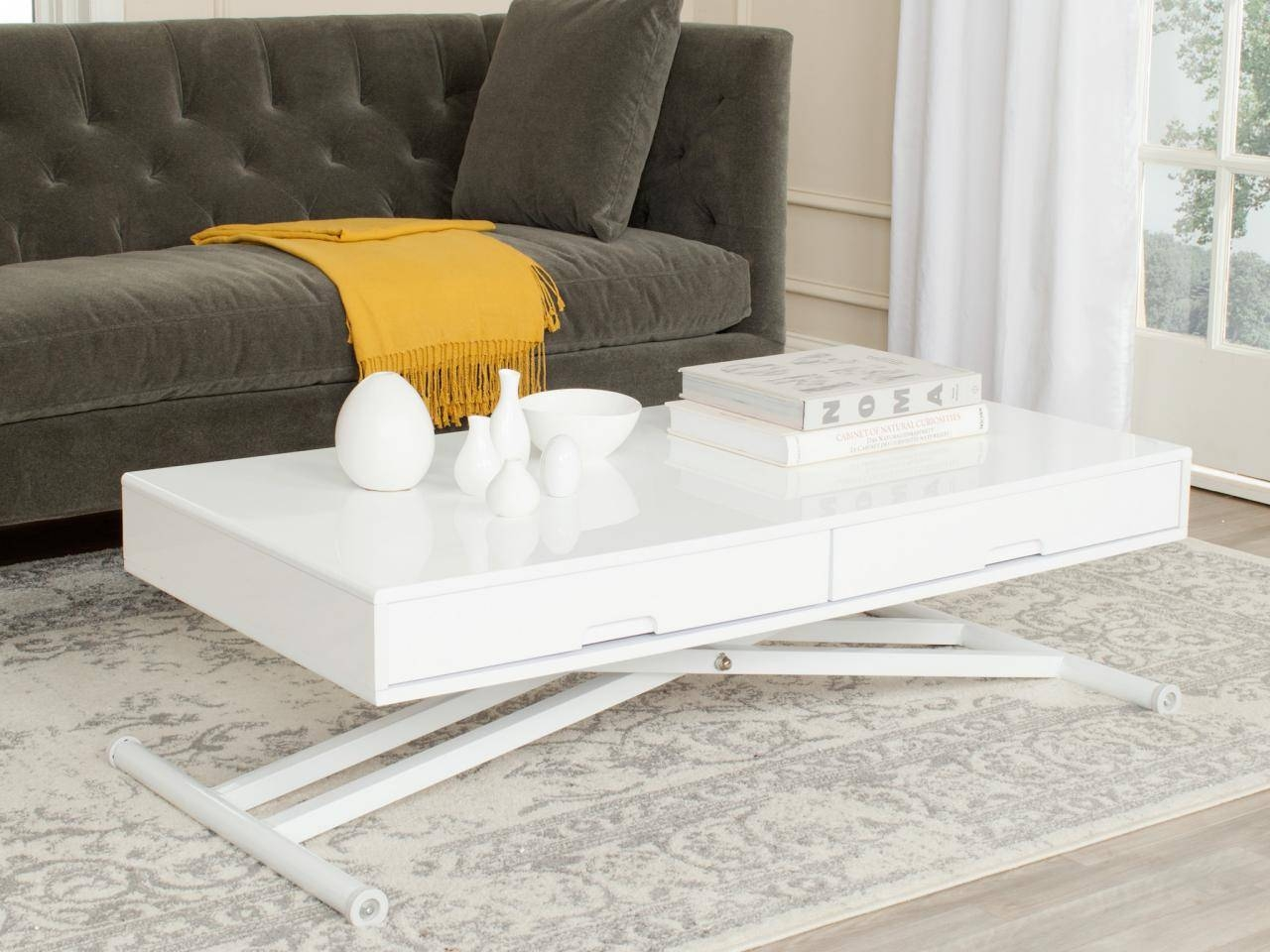 Coffee Table Styling Ideas | Hgtv's Decorating & Design Blog | Hgtv regarding Lacquer Coffee Tables (Image 9 of 30)