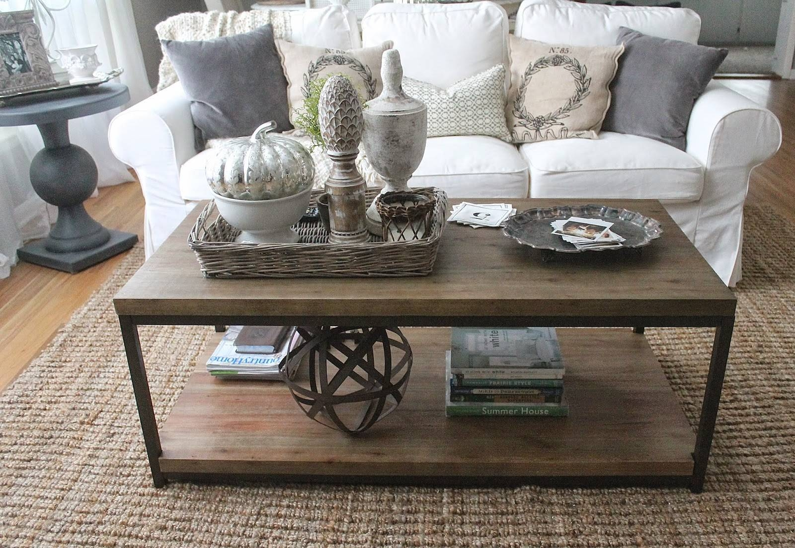 Coffee Table Styling | Little Miss Notting Hill inside Round Coffee Table Trays (Image 6 of 30)