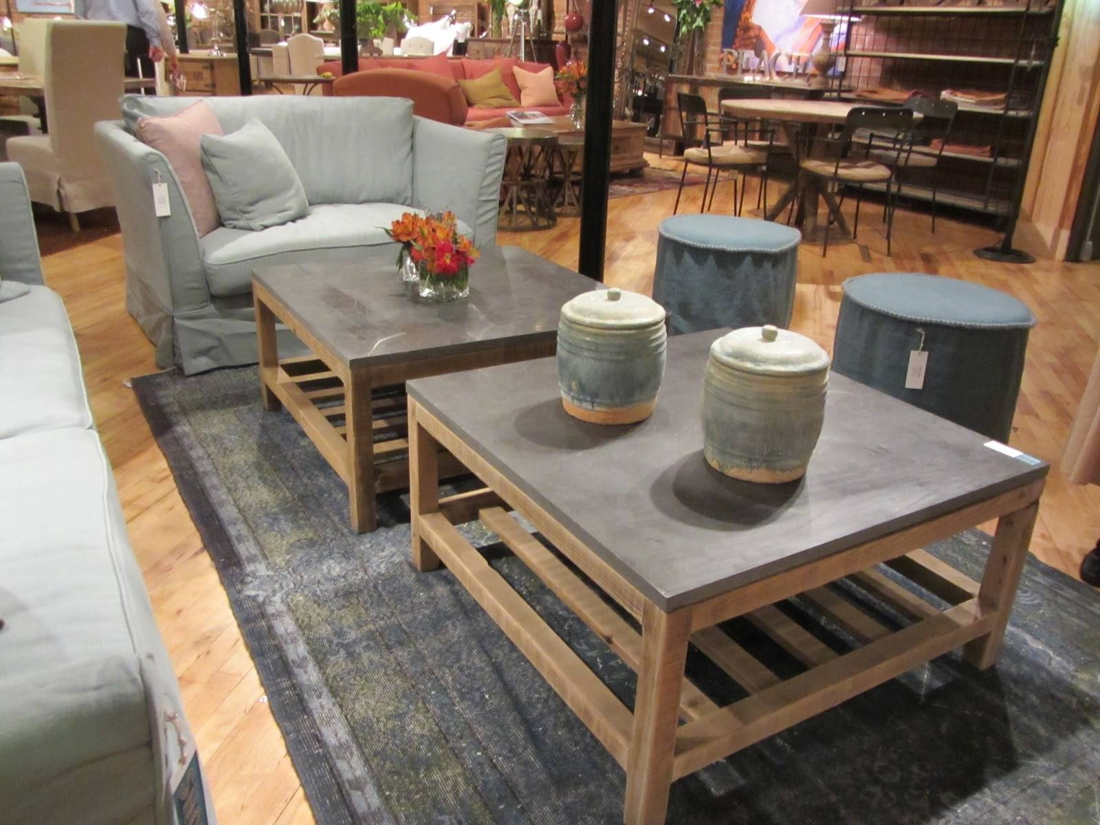 Coffee Table: Surprising Stone Top Coffee Table Ideas Slate Top Throughout  Square Stone Coffee Tables