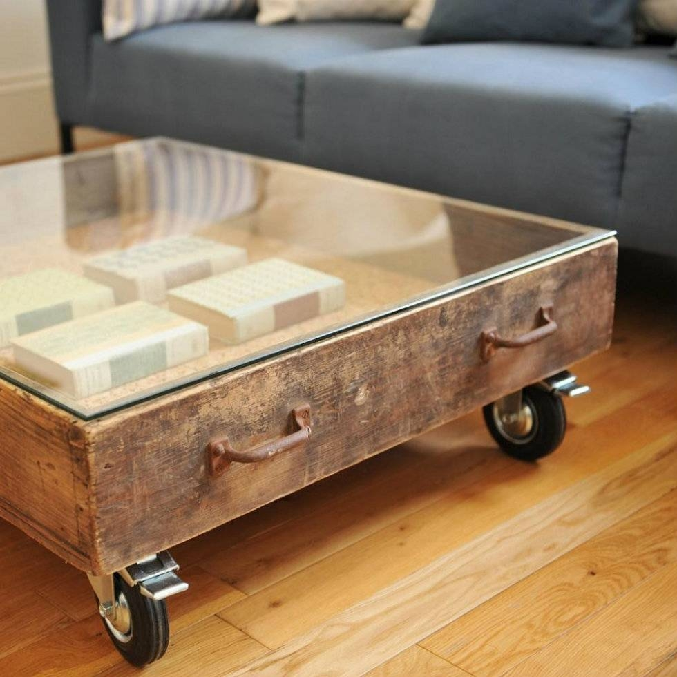Coffee Table: Vintage Design Coffee Tables For The Living Room in Antique Glass Coffee Tables (Image 12 of 30)