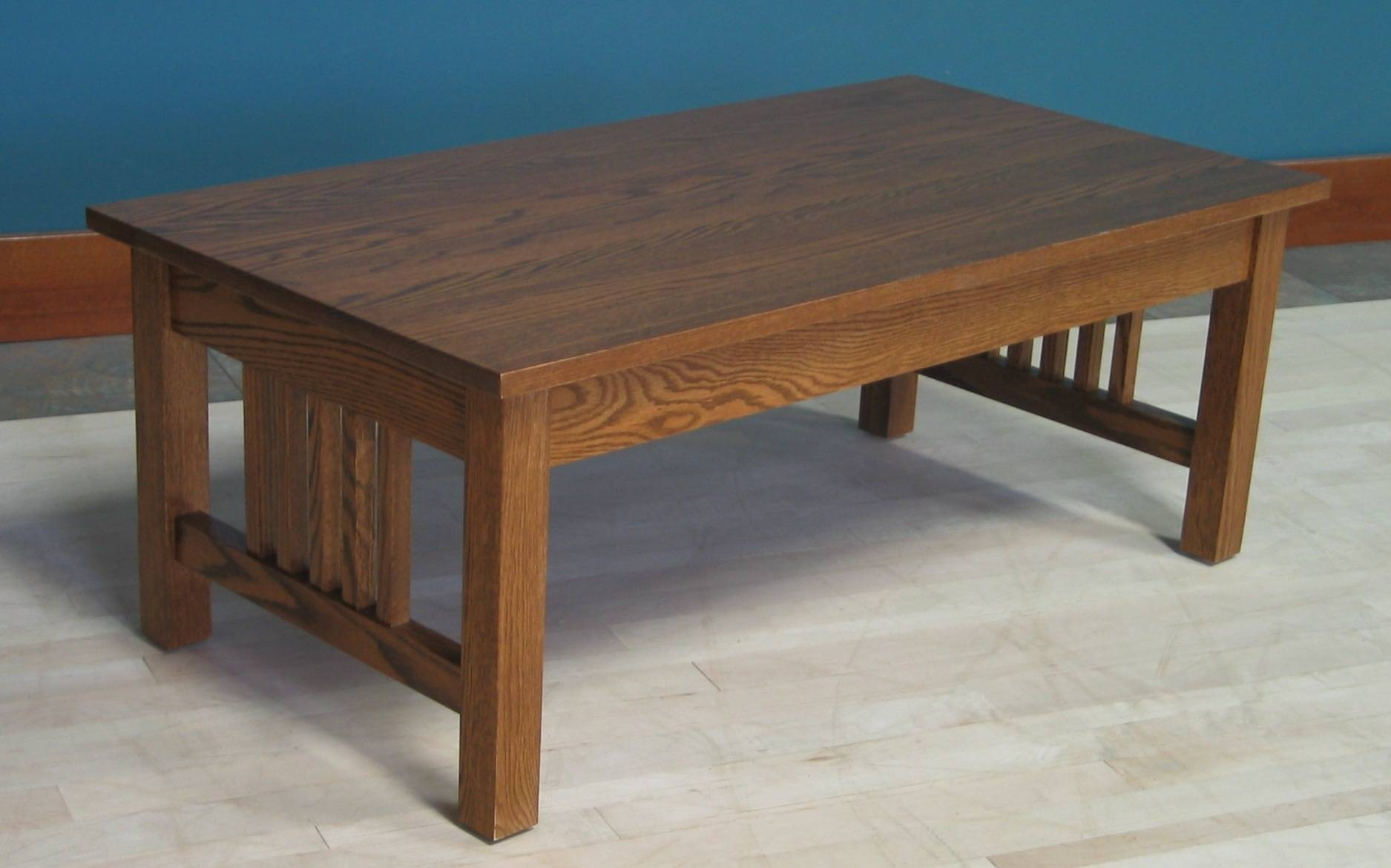 Coffee Table W/ 2 Drawers with regard to Oak Coffee Tables With Shelf (Image 7 of 30)